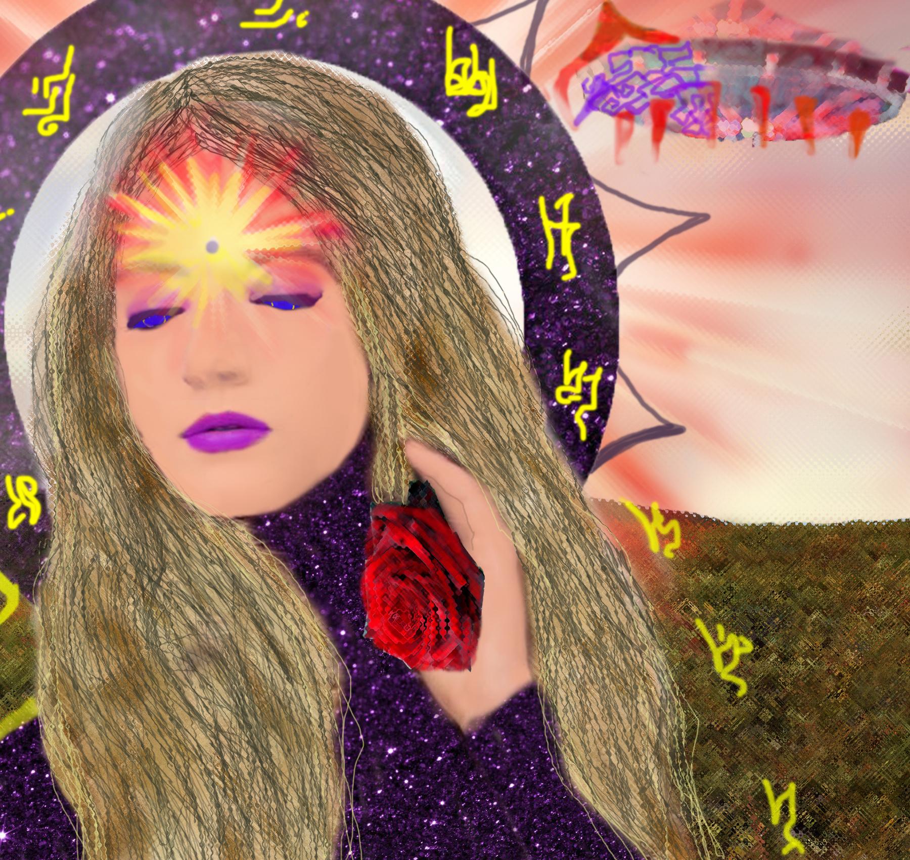 Внеземной мир в картинах DiezelSun
