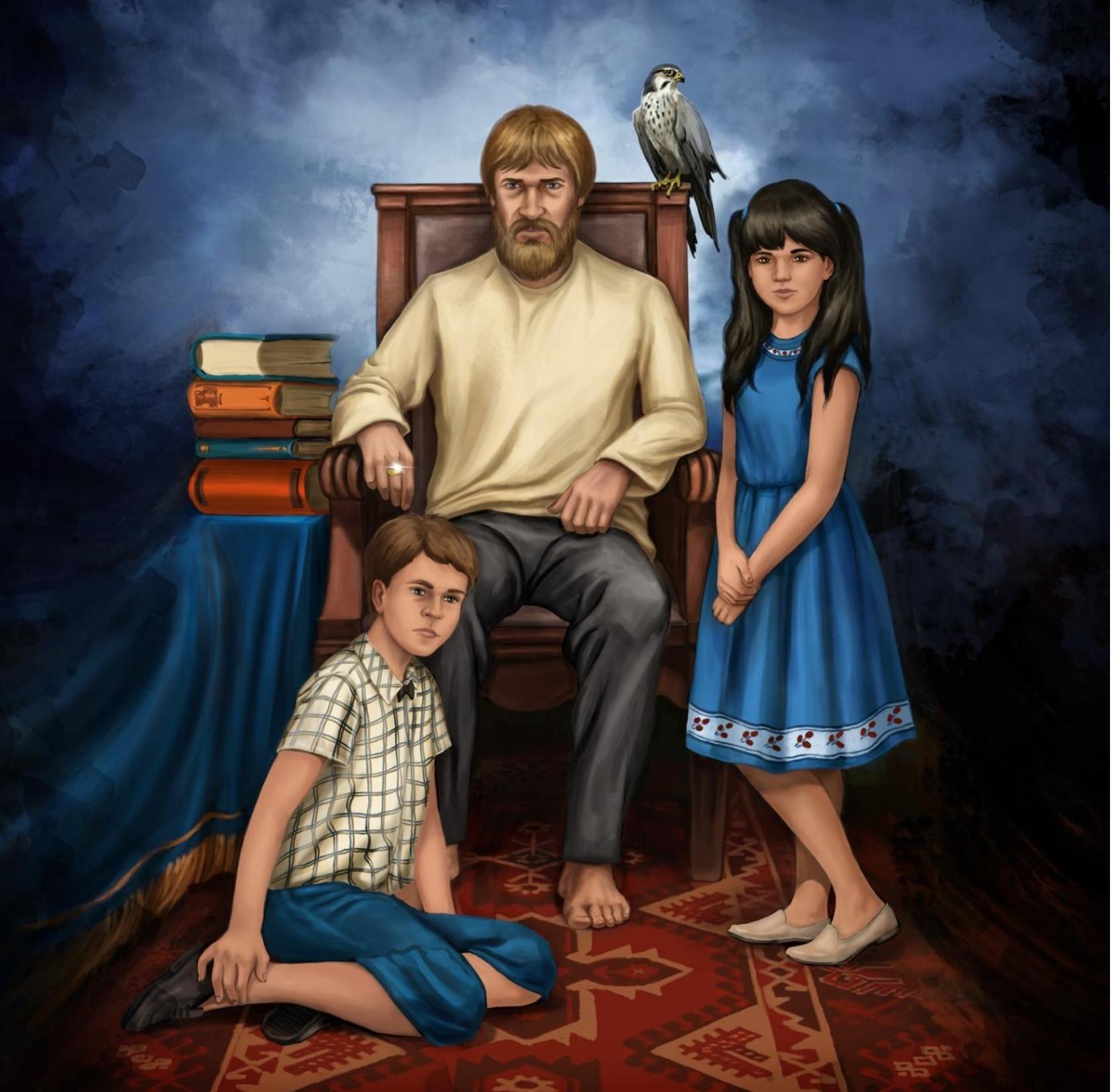 Портрет кисти Мшагина