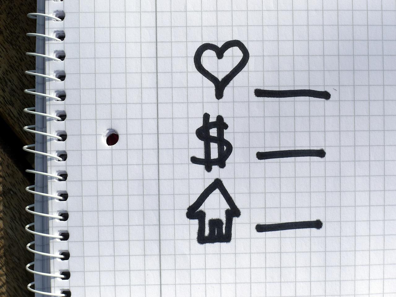 Деньги на любовь