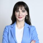 Рисунок профиля (Антонина Грунская-Гёкдениз)